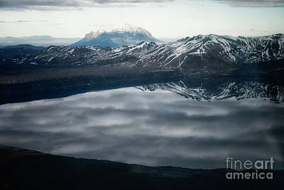 Photograph - Famous Mountain Askja In Iceland by Patricia Hofmeester