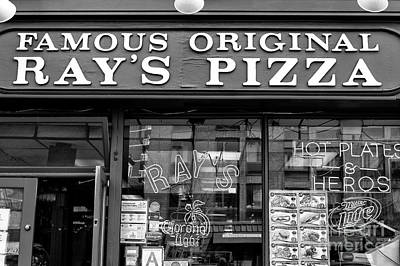 Photograph - Famous Original Ray's Pizza by John Rizzuto