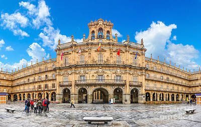 Photograph - Famous Plaza Mayor In Salamanca by JR Photography