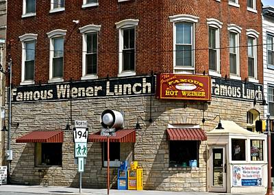Photograph - Famous Wiener Lunch by Tana Reiff