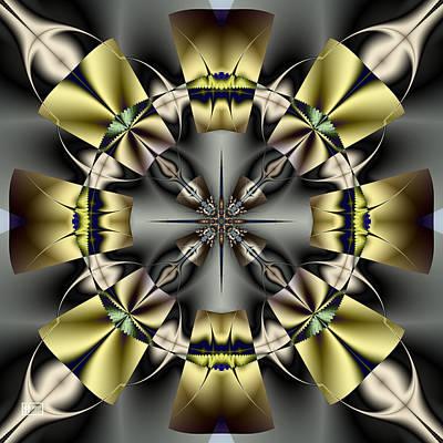 Digital Art - Fan Dancer by Jim Pavelle