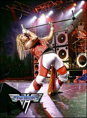 Van Halen Photograph - Fan Halen - Ernie Berru by John Melton