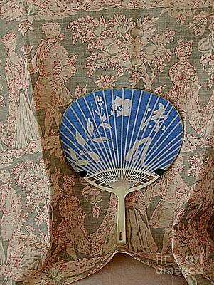 Photograph - Fan Tapestry by Nancy Kane Chapman