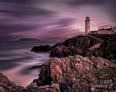 Photograph - Fanad Light by Edmund Nagele