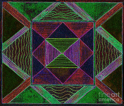 Appleton Digital Art - Fanciful Sensation by Norma Appleton