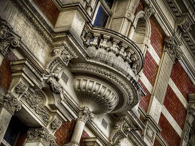 Photograph - Fancy Balcony by Wayne Sherriff