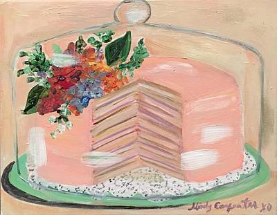 Painting - Fancy Cake by Mindy Carpenter