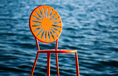 Fancy Chair Print by Todd Klassy