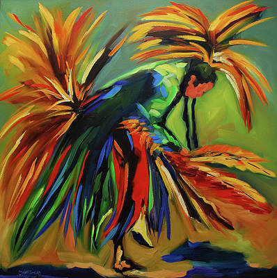 Painting - Fancy Dancer by Diane Whitehead