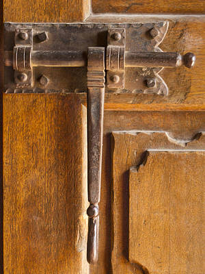Photograph - Fancy Door Closure by Jean Noren