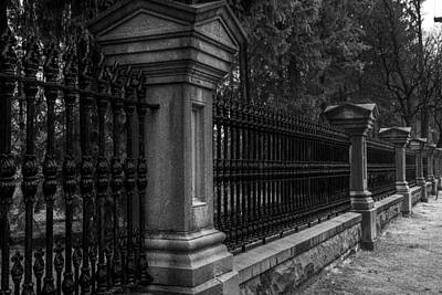 Photograph - Fancy Fence by Celso Bressan