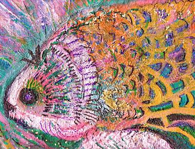 Fancy Fishy With Orange And  Pink Fins First Partner Original