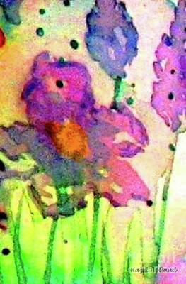 Painting -  Spring Fancy by Hazel Holland