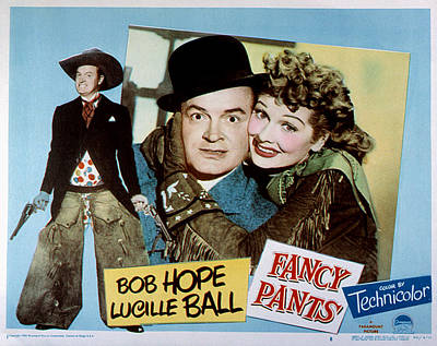 Posth Photograph - Fancy Pants, Bob Hope, Lucille Ball by Everett