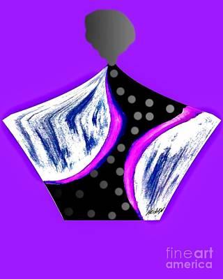 Wrap Digital Art - Fancy Parfum Bottle   by Marsha Heiken