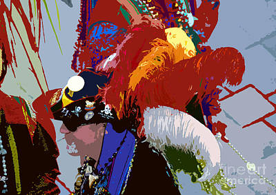 Gasparilla Painting - Fancy Pirate by David Lee Thompson