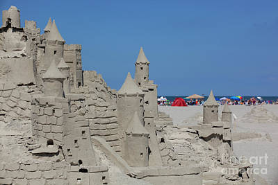 Vintage Signs - Fancy Sand Castle by Anthony Totah
