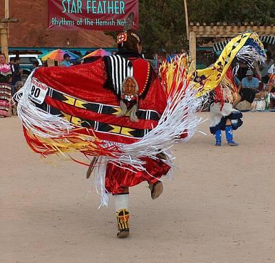 Memorial Day Drawing - Fancy Shawl Dancer by Tim McCarthy