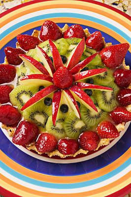 Kiwi Photograph - Fancy Tart Pie by Garry Gay