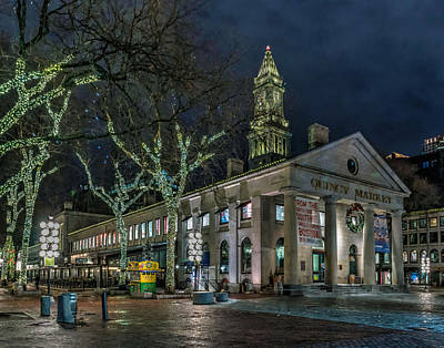 Photograph - Faneuil Hall 3456 by Jeff Stallard