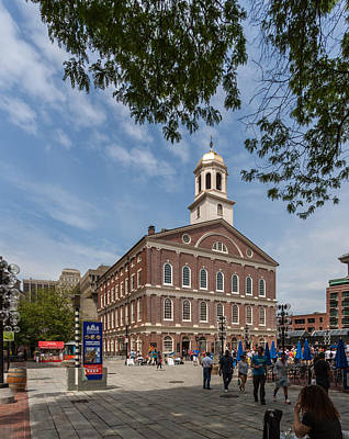 Photograph - Faneuil Hall Boston by Brian MacLean