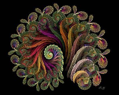 Digital Art - Fanfare by Kim Redd