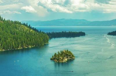 Photograph - Fannette Island by Nancy Marie Ricketts