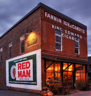 Photograph - Fannin Tobacco Company by Greg Mimbs