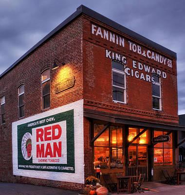 Photograph - Fannin Tobacco Company by Greg Mimbs