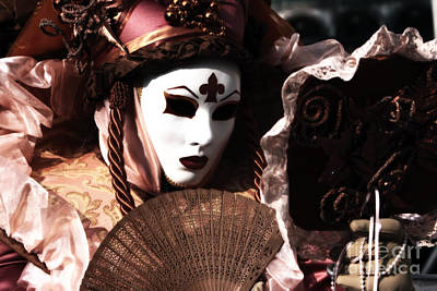 Carnevale Photograph - Fanning by John Rizzuto
