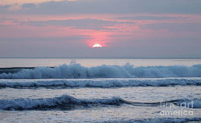 Photograph - Fanore Sunset 1 by Peter Skelton
