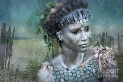 Digital Art - Mermaiden Fantasea by Mary Lou Chmura