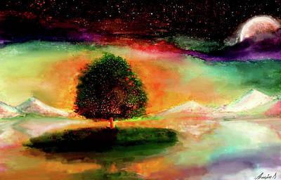 Epiphany Painting - Fantasia by Armin Sabanovic