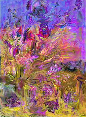 All Your Vision Mixed Media - Fantasia Painting by Don  Wright