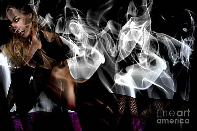 Photograph - Fantasies In Smoke I by Clayton Bruster