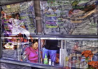 Food Truck Photograph - Fantasies Of The Chile Pepper Grill by John Hesley