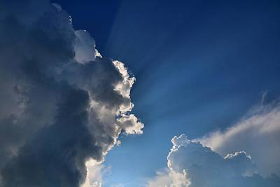 Photograph - Fantastic Clouds by Kathryn Meyer