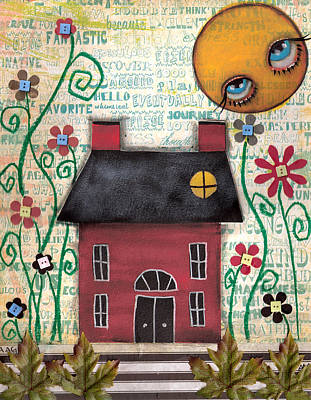 Painting - Fantastic Day by  Abril Andrade Griffith