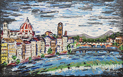 Painting - Fantastic Florence Italy by Patrick Grills