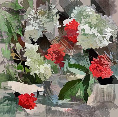 Digital Art - Fantastic Flowers by Yury Malkov
