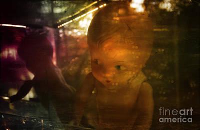 Photograph - Fantastic Life Of Floating Baby Dolls by Debra Fedchin