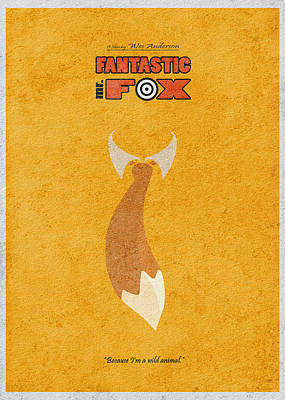 Fox Wall Art - Digital Art - Fantastic Mr. Fox by Inspirowl Design