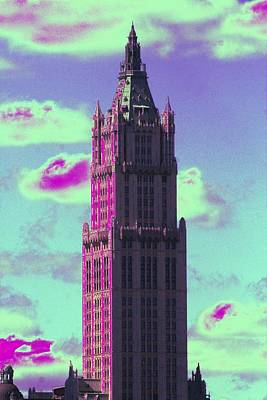Photograph - Fantastical Woolworth by Christopher Kirby