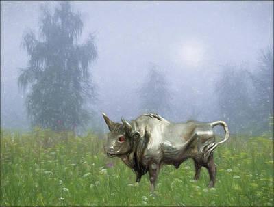 Digital Art - Fantasy 1 by Vladimir Kholostykh