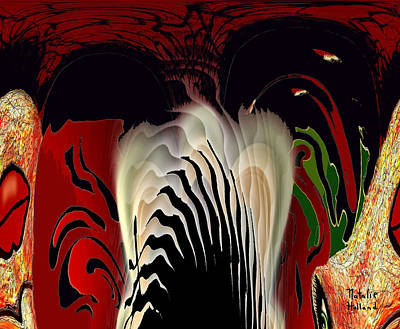 Plume Mixed Media - Fantasy Abstract by Natalie Holland