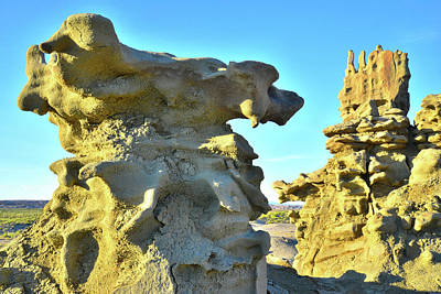 Photograph - Fantasy Canyon Hoodoos by Ray Mathis