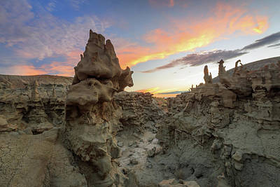 Photograph - Fantasy Canyon Sunset. by Johnny Adolphson