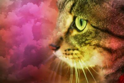 Fantasy Cat One Art Print