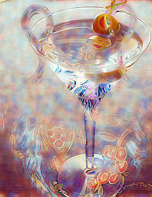 Digital Art - Fantasy Cocktail  by Pamela Smale Williams