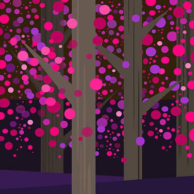 Digital Art - Fantasy Dogwood by Val Arie